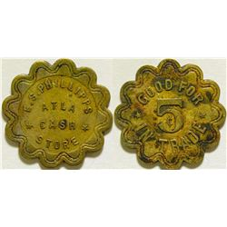 E. S. Phillipps Cash Store Token  (115753)