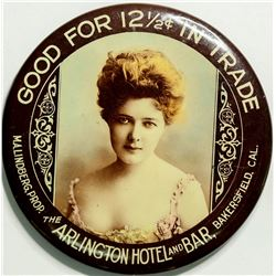 Arlington Hotel Advertising Mirror  (114400)