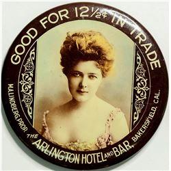 Arlington Hotel Advertising Mirror  (114400)