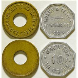 Murry & Kelley/ Sutton Cafe Tokens  (115768)