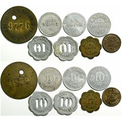 Big Creek Token Collection  (114721)