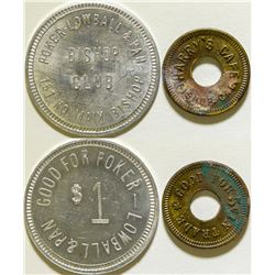 Harry's Cafe/Bishop Club Tokens  (115770)