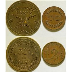 Poker Tom's Saloon/ T & Ds Tokens  (115757)