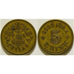 Brooklyn Wine Cellar Token  (115759)
