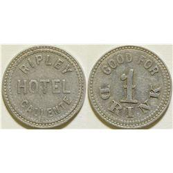 Ripley Hotel Token  (115569)