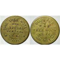 Pine Tree Motel Token  (114979)