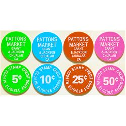 Pattons Market Tokens  (115648)