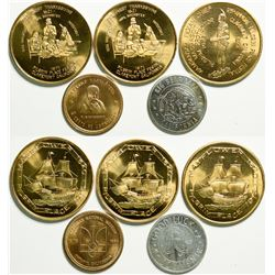 Souvenir tokens from Claremont, Cal.   (109021)