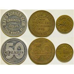 Crockett Token Collection  (115644)