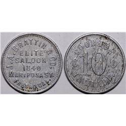 Elite Saloon Token  (116536)