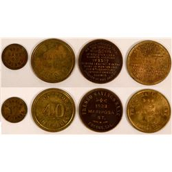 Fresno Bank Tokens  (117605)