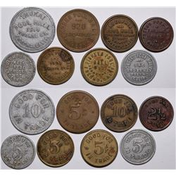 Fresno Pool Hall Tokens  (116526)