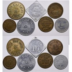 Fresno Token Collection  (116481)