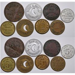Fresno Token Collection  (116523)