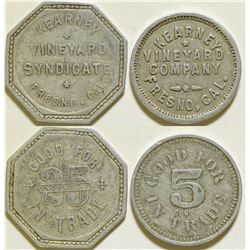 Kearney Vineyard Syndicate Tokens  (115642)