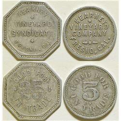 Kearney Vineyard Syndicate Tokens  (115642)