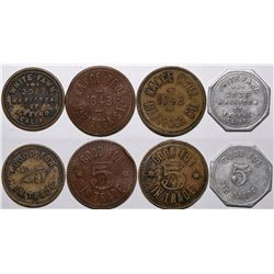 Older Fresno Tokens  (116533)