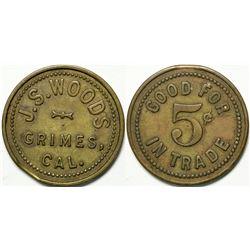 J. S. Woods Token  (114974)