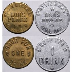 Lou's Place Tokens  (116514)