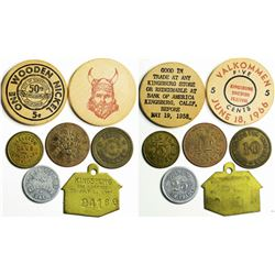 Kingsburg Token Collection  (114835)