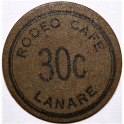 Rodeo Cafe Token  (116511)