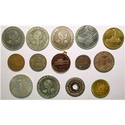Los Angeles tokens   (114423)