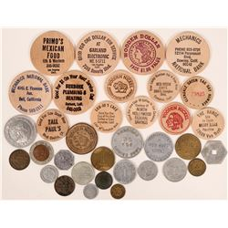 Los Angeles County Token Collection  (116512)
