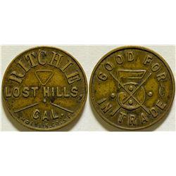 Ritchie Token, Lost Hills  (115638)