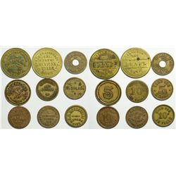 Nevada City/Rough and Ready Tokens  (114951)