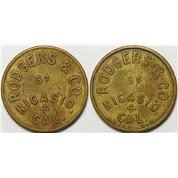 Rodgers & Co. Token  (114964)