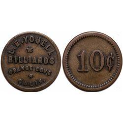 L. E. Youell Billiards Token  (116494)