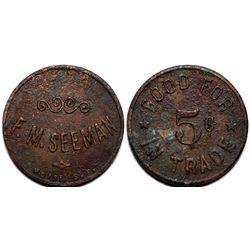 F. M. Seeman Token  (115464)