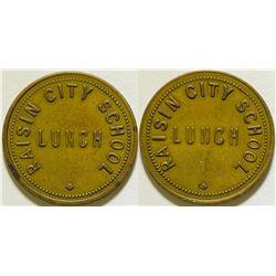 Raisin City School Lunch Token  (115773)