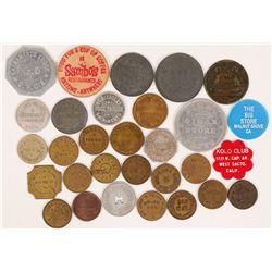 Sacramento Token Collection  (115459)