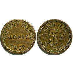 San Joe Saloon token  (114431)