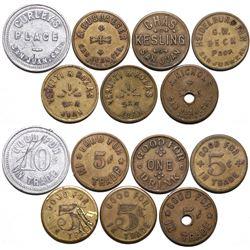San Juan Token Collection  (115456)