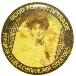 Bohemian Club Good For Advertising Mirror  (101181)