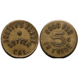 Scotty's Place Token  (115594)