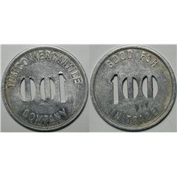 Tumco Mercantile Co. Token  (114968)