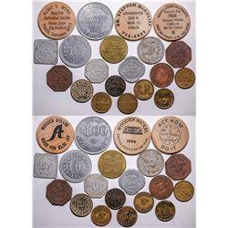 Visalia Token Collection  (115579)