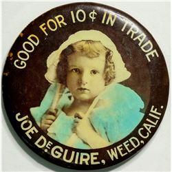 Joe DeGuire Advertising Mirror  (114326)