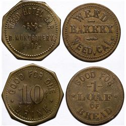 Weed Hotel Bar/Bakery Tokens  (115470)