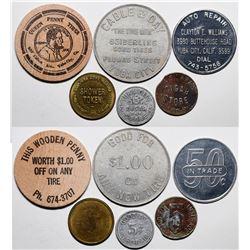 Yuba City Token Collection  (115469)