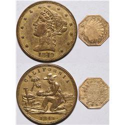 California Gold Rush Tokens  (116308)