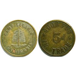 Camp Sequoia Token  (114720)