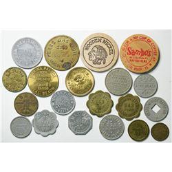 Southern California Beaches Token Collection  (114945)