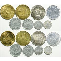 Dakota Token & Medals Collection  (114593)