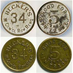 Becker's Tokens  (114571)