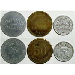 Texas Tokens  (114595)