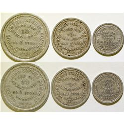 Carbon Emery Stores Company Tokens  (116304)
